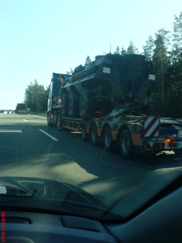 Somewhere on the Autobahn - transport/reconnaissance tank 'Fuchs'