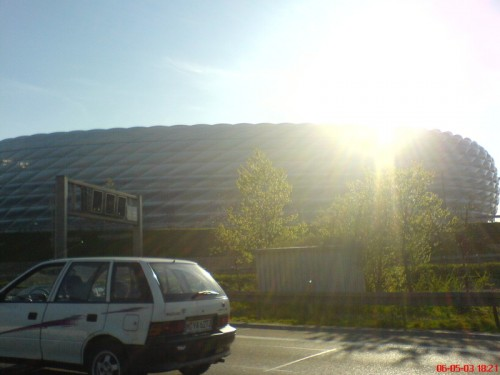 Entering Munich - Allianz Arena