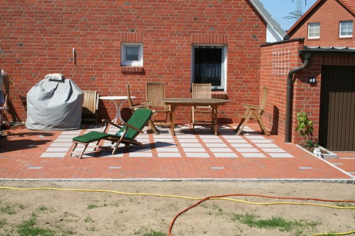 The new patio