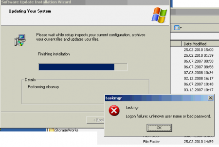 Really weird Windows error